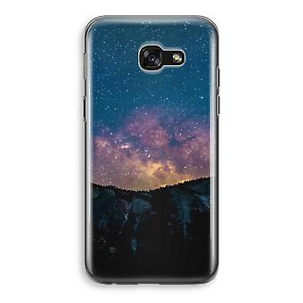 Samsung Galaxy A5 (2017) Transparent Case - Travel to space