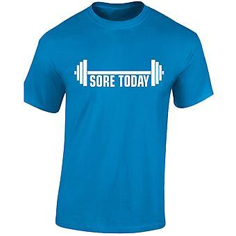 Öm idag starka imorgon tyngdlyftning Mens T-Shirt 10 färger (S-3XL) av swagwear