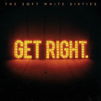 Mjuk vit sextiotalet - få rätt [CD] USA import