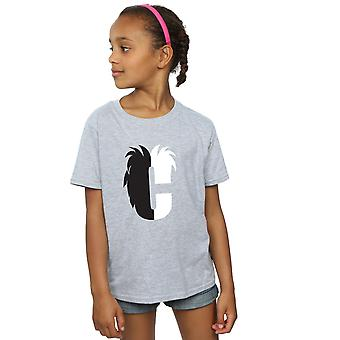 Disney Girls Alphabet C Is For Cruella De Vil T-Shirt