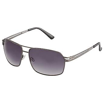 Classic sunglasses for men by Carlo Monti with 100% UV protection | sturdy metal frame, high quality sunglasses case, microfiber glasses pouch and 2 year warranty | SCM104-181 Napoli