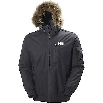 Helly Hansen Mens Dubliner Bomber Waterproof Natural Down Jacket Coat
