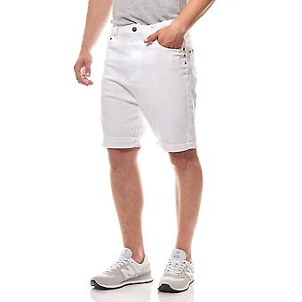 JUNK YARD Ralf tapered 5-Pocket men's leisure shorts white
