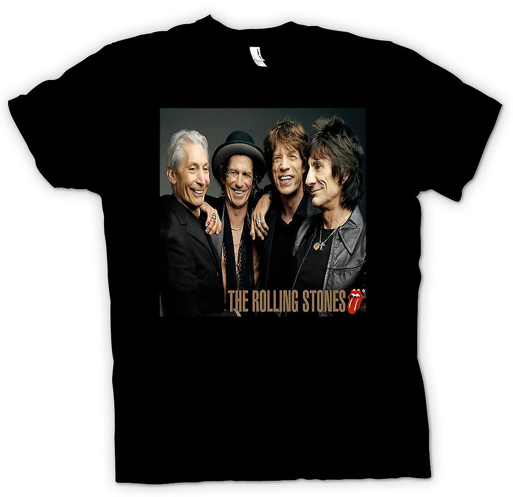 Kids T-shirt - The Rolling Stones - Band Portrait - Lips