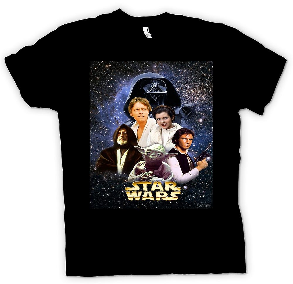 Mens T-shirt - Star Wars - Movie - Poster
