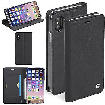 Krusell Malmö Pocket Folio case for Apple iPhone X 5.8 Pocket protective case black