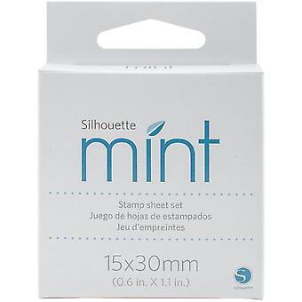 Silhouette Mint Stamp Sheets .5