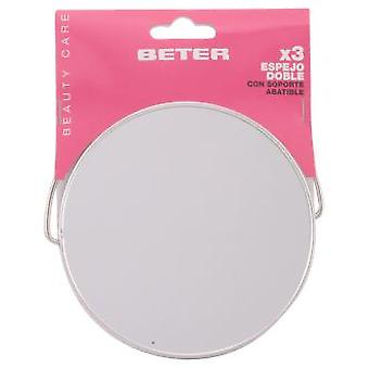 Beter Two way mirror with stand x3 (Make-up , Accessoires)