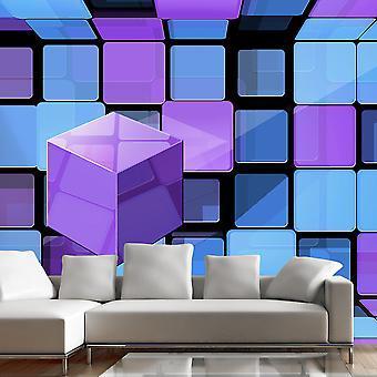Tapet - Rubiks terning: variation