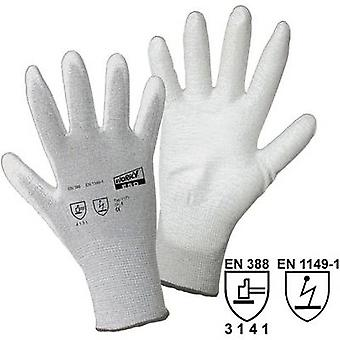 Nylon Protective glove Size (gloves): 11, XXL EN 388 , EN 1149-1 CAT II L+D worky ESD Nylon/Carbon-PU 1171 1 pair