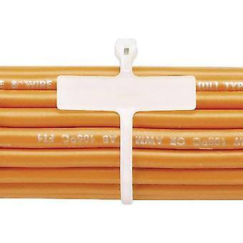 Cable tie 107 mm Ecru Metal latch Panduit BM1M-C