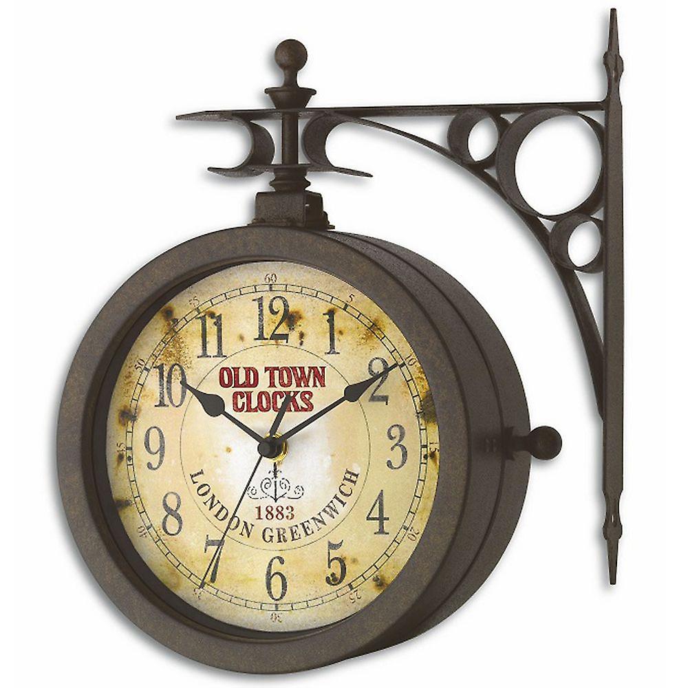 Horloge Horloge nostalgie nostalgie mur horloge ther ètre nostalgie apparence antique peut être tourné de mur