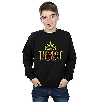 Disney Boys The Descendants Fairest Gold Sweatshirt