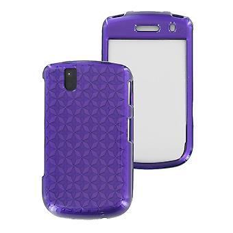 OEM Verizon Snap-On Case voor de BlackBerry Bold 9650, Tour 9630 (paars patroon) (B