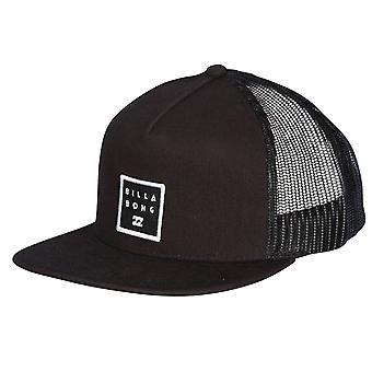 Billabong Trucker Snapback  Cap ~ Stacked black