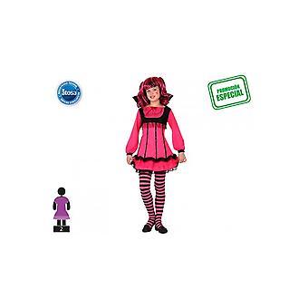 Kinder kostuums kinderen vampier meisje roze
