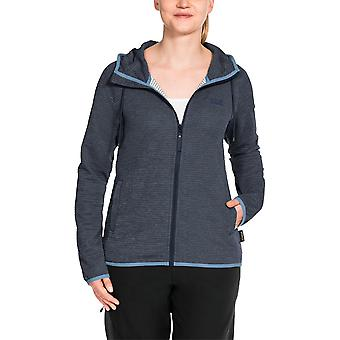 Jack Wolfskin Womens Tongari Hooded Fleece Jacket/Water Resistance