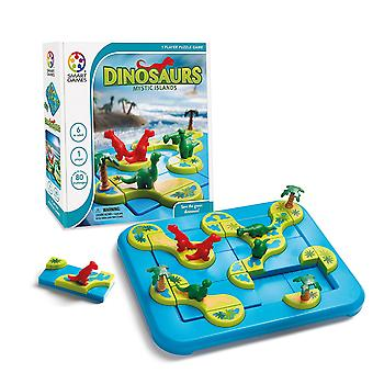 SmartGames Dinosaurs Mystic Islands - One Player Puzzle Game