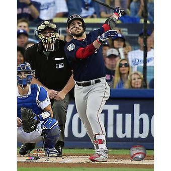 Steve Pearce Two-run Home Run Game 5 of the 2018 World Series Photo Print
