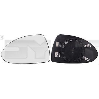 Left Passenger Side Mirror Glass (heated) & Holder for OPEL CORSA D 2006-2014