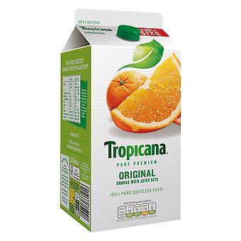 Tropicana Original Orange Fruchtsaft mit Bits Kartons