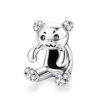 Sterling silver charm Bear