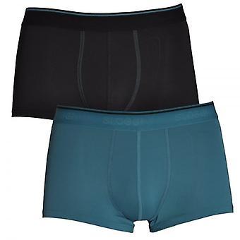 Sloggi 24/7 2-Pack Microfibre Hipster, Blue / Black, 38