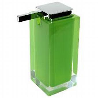 Dispenser di sapone grande arcobaleno verde RA80 04