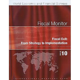 Fiscal Monitor - November 2010 by Philip R. Gerson - 9781616350475 Bo