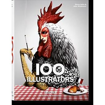 100 Illustrators by Steven Heller - Julius Wiedemann - 9783836522229