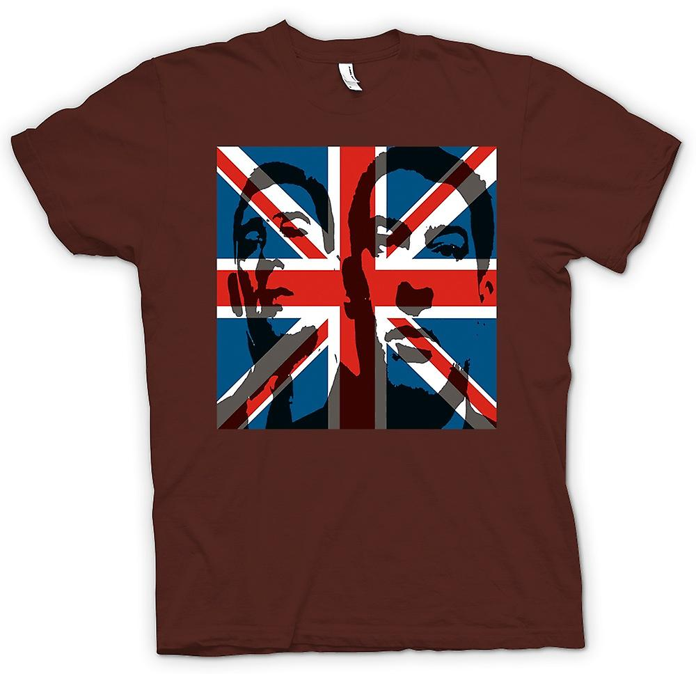 Heren T-shirt - de Krays Union Jack - Gangster
