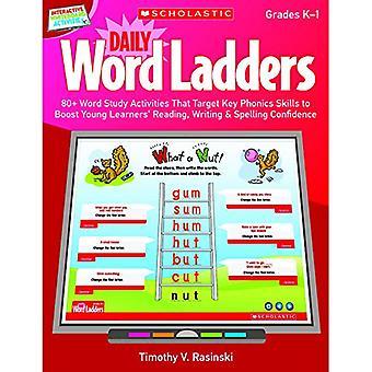 Daily Word Ladders, Gr. K-1