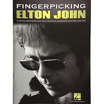 Fingerpicking Elton John: 15 nummers gearrangeerd voor Solo gitaar
