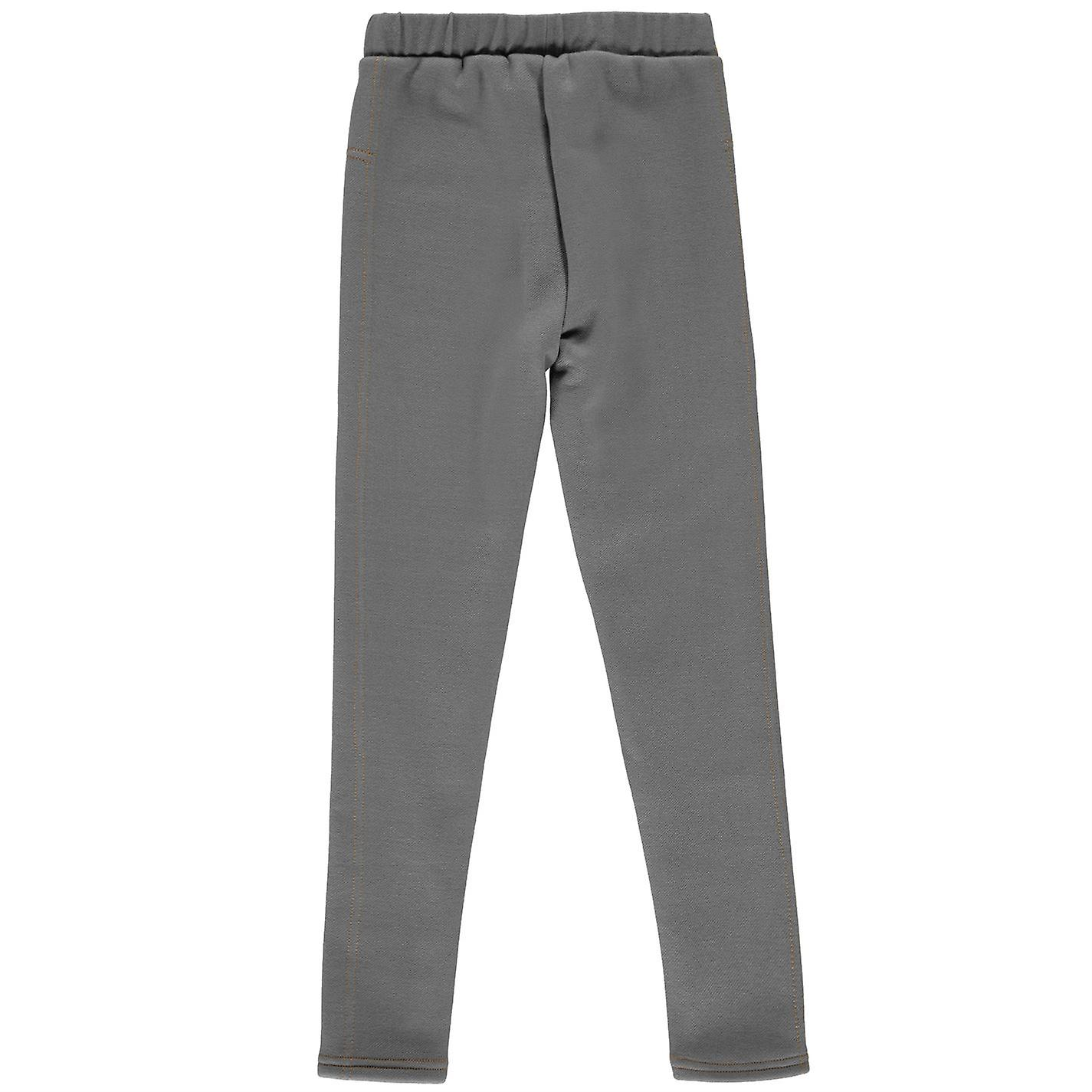 Miso Kids Girls Lined Leggings Pants Trousers Bottoms Elasticated Waist