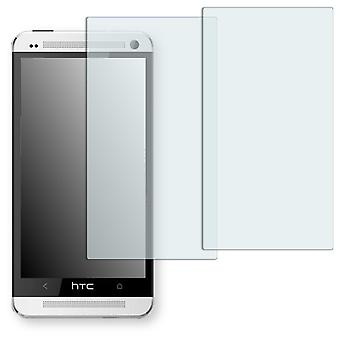 HTC 801e screen protector - Golebo crystal clear protection film