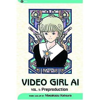 Video Girl AI - Preproduction (2nd) by Masakazu Katsura - Masakazu Kat
