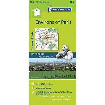 Environs of Paris Zoom Map 106 - Environs de Paris - 9782067217744 Book