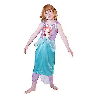 Arielle big print classic princess dress child costume Disney