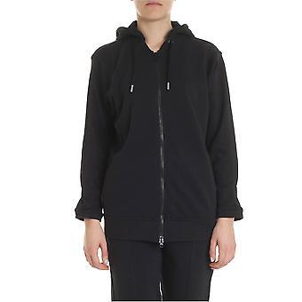 Adidas By Stella Mccartney Black Cotton Sweatshirt