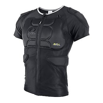 Oneal Black 2019 BP - Short Sleeved MX Protection Jacket