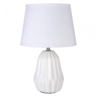 Premier Home Winslet Table Lamp, White