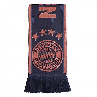 2019-2020 Bayern München Adidas 3S sjaal (Navy)