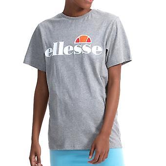 Ellesse Heritage Albany Womens Ladies Boyfriend Fashion T-Shirt Tee Grey