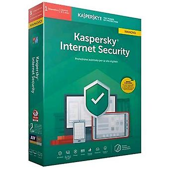 Kaspersky internet security 2019 license for 1 device for 1 year version-renewal (english)