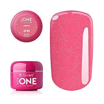Base one Neon-Baby pink 5 g UV-gel