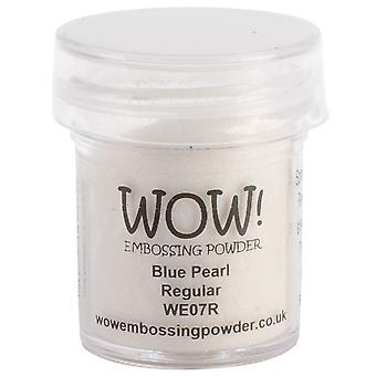 Wow! Embossing Powder 15Ml Blue Pearl Wow We07r