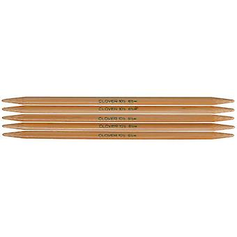 Bamboo Double Point Knitting Needles 7
