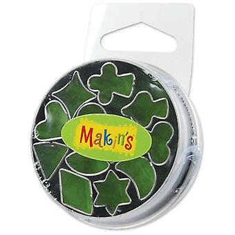 Makin's Clay Cutters 12 Pkg Mini Geometric 37004