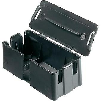 Adels-Contact 542163 Connection Box for 3-Way Connector Strip Black