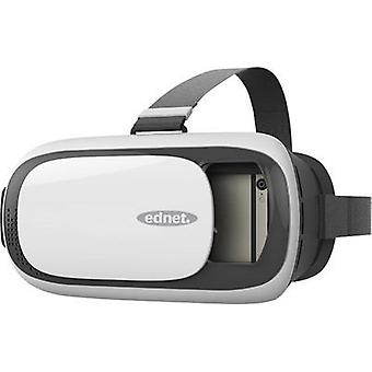 ednet 87000 White, Silver, Black VR glasses